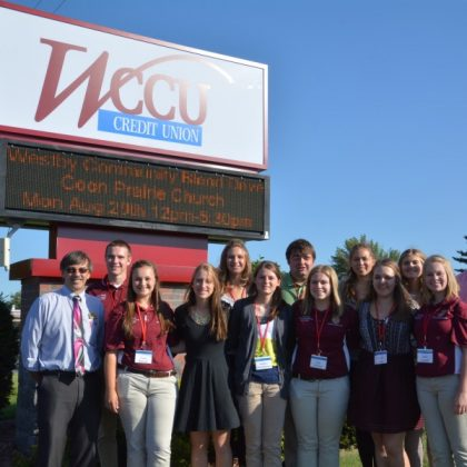 Young leaders tour Wisconsin cooperatives