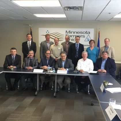 Cooperative Network meets with Senator Franken and MDA Commissioner Frederickson