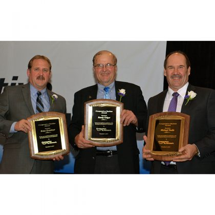 Geiger, Krambeer and Toelle receive cooperative top honor