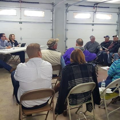 Cooperative Network attends Farm Bill listening session hosted by U.S. Sen. Tina Smith