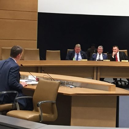 Cooperative Network provides Grain Advisory Group update in testimony before the Senate Agriculture Committee