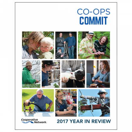 Co-ops Commit - Cooperative Network's 2017 Year in Review